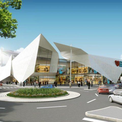 קניון, מרכז עסקים ומגורים | גבעת שמואל